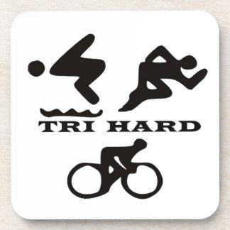 Tri regalos duros ropa y accesorios del Triathlon Posavasos