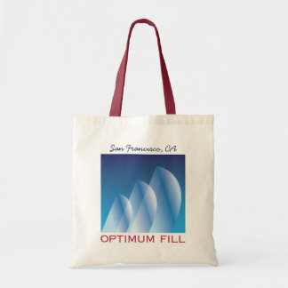 Tri-Sail_Optimum Fill_San Francisco, CA Tote Bag