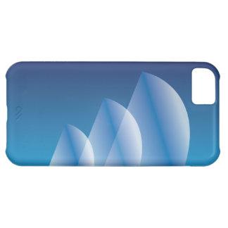 Tri-Sail Translucent Blue Sky Case For iPhone 5C