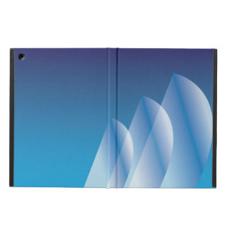 Tri-Sail Translucent Blue Sky Cover For iPad Air