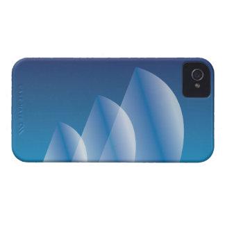 Tri-Sail Translucent Blue Sky iPhone 4 Case-Mate Case