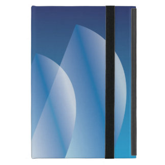 Tri-Sail Translucent Blue Sky personalized Cover For iPad Mini