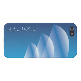 Tri-Sail Translucent Blue Sky personalized Cover For iPhone SE/5/5s
