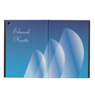 Tri-Sail Translucent Blue Sky personalized iPad Air Cover