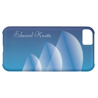 Tri-Sail Translucent Blue Sky personalized iPhone 5C Cover