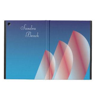 Tri-Sail Translucent Blue Sky Scarlet Sails 2 iPad Folio Cases