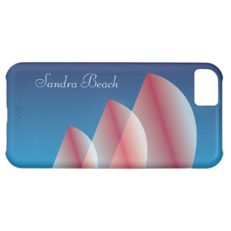 Tri-Sail Translucent Blue Sky Scarlet Sails Cover For iPhone 5C