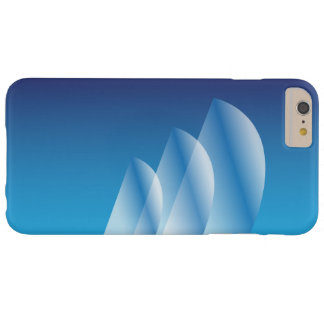 Tri-Sail_Translucent Blue Sky_Sheer Elegance Barely There iPhone 6 Plus Case
