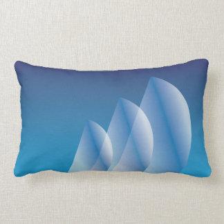 Tri-Sail Translucent Blue Sky sweet dreams Lumbar Pillow