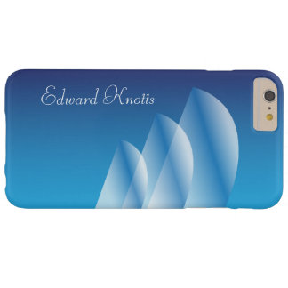 Tri-Sail_Translucent Sails_Blue Sky_personalized Barely There iPhone 6 Plus Case