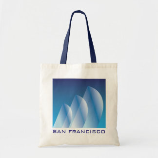 Tri-Sail_Translucent_San Francisco Tote Bag