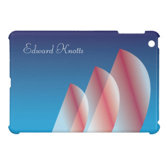 Tri-Sail Translucent_Scarlet Sails_personalized Cover For The iPad Mini