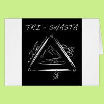 Tri - Shasta Triathalon Card