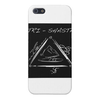 Tri-Shasta-Triathalon Logo Cover For iPhone 5