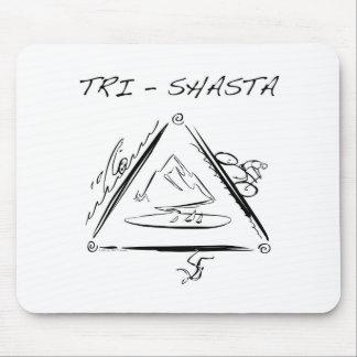 Tri-Shasta-Triathalon-Logo Mousepads