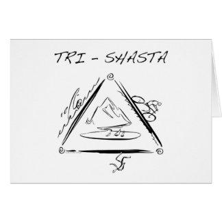 Tri-Shasta-Triathalon Tarjetas