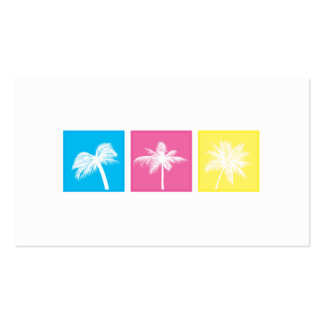 Tri-Squares - Palms Business Card