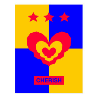 Tri Stella Forte - Cherish Postcard