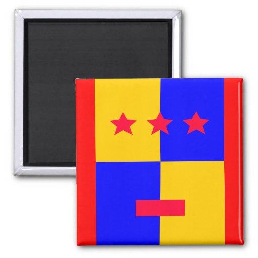 Tri Stella Forte Logo Fridge Magnets