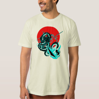 Tri- Sword Warrior Dragon T-Shirt