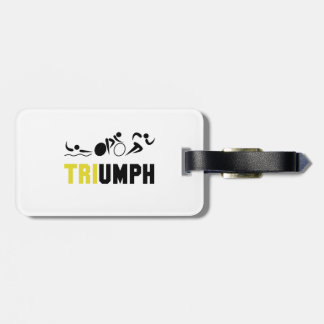 Tri Triumph Luggage Tag