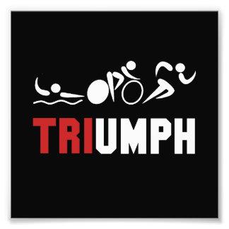 Tri Triumph Photo Print