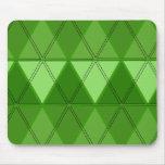Tri Verde Alfombrillas De Raton
