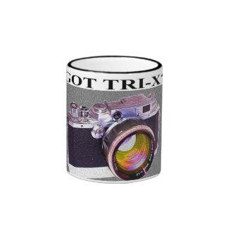 ¿TRI-X CONSEGUIDO? Telémetro Camer de Canon con la Tazas De Café