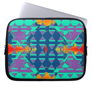 Triad 1 Zippered Neoprene Electronics Case Laptop Computer Sleeve