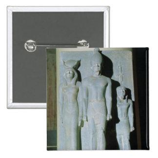 Triad of Menkaure Pinback Button