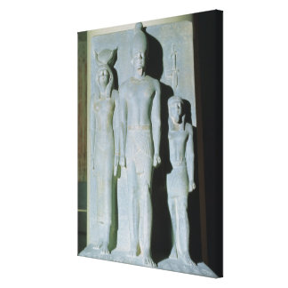 Triad of Menkaure Canvas Print