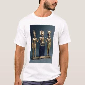 Triad of Osorkon II: Osiris flanked by Isis and Ho T-Shirt