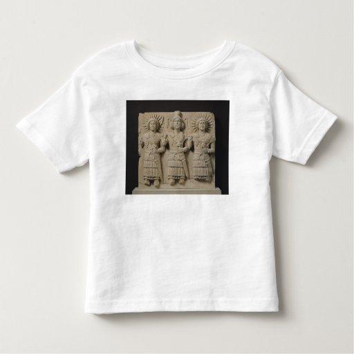 Triad of Palmyrene Gods, from Palmyra Region T-shirts