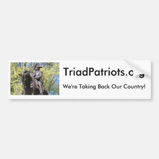 Triad Patriots Bumper Sticker