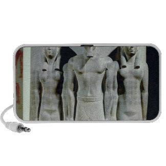 Tríada de Menkaure con la diosa Hathor iPhone Altavoz