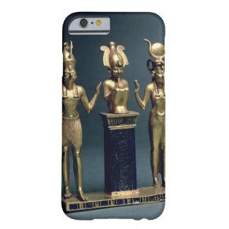 Tríada de Osorkon II: Osiris flanqueó por ISIS y Funda Barely There iPhone 6
