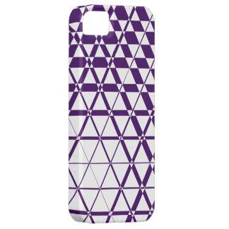 Triagonal Ivory (Indigo) iPhone 5S Case