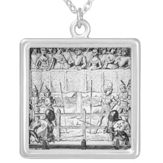 Trial by Ordeal - The Combat Silver Plated Necklace