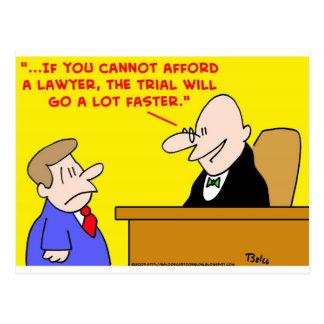 trial go faster postcard