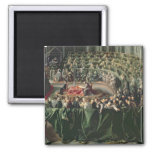 Trial of Galileo, 1633 2 2 Inch Square Magnet