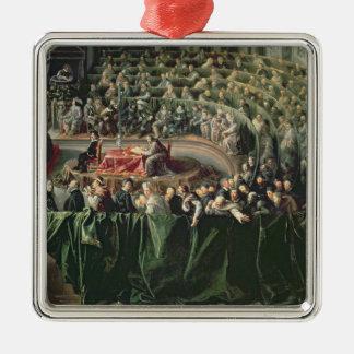 Trial of Galileo, 1633 2 Metal Ornament