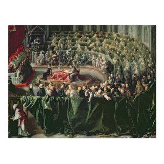 Trial of Galileo, 1633 2 Postcard