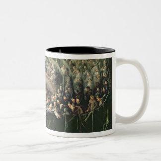 Trial of Galileo, 1633 2 Two-Tone Coffee Mug