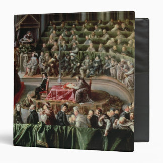 Trial of Galileo, 1633 3 Ring Binder