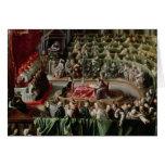 Trial of Galileo, 1633 Greeting Card