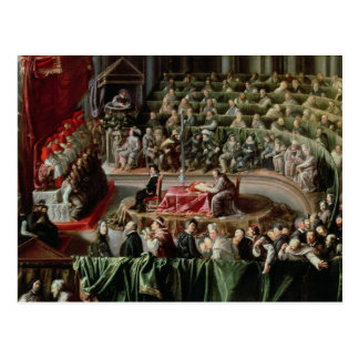 Trial of Galileo, 1633 Postcard