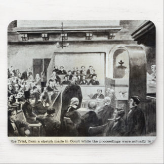 Trial of Madeleine Smith, 1857 Mouse Pad