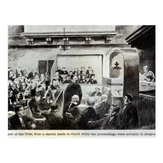 Trial of Madeleine Smith, 1857 Postcard