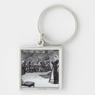 Trial of Mary Queen of Scots Keychain