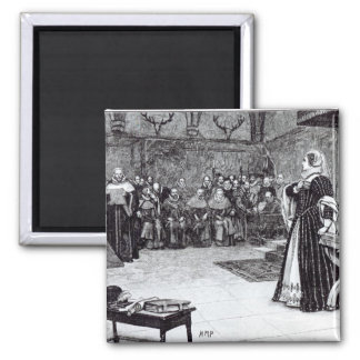 Trial of Mary Queen of Scots Magnet